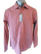 Van Heusen Cotton Blnd 14-14 ½ Neck 34 Red Chili Striped Point Shirt SR$54 NEW