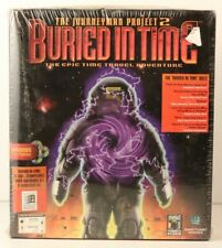 THE JOURNEYMAN PROJECT 2 : BURIED IN TIME New/Sealed Cd-Rom Big Box VIDEO GAME