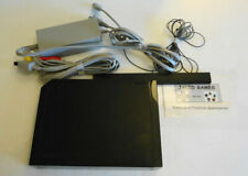 New listing Used Nintendo Black Wii Console Rvl-101 No Remote Free Shipping!