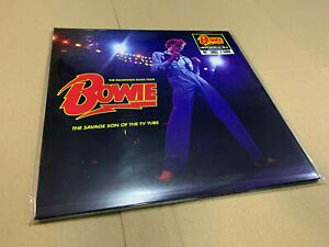 DAVID BOWIE 2 LP THE SAVAGE SON OF THE TV TUBE GREEN FLUO VINYL