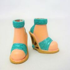 My Scene Barbie Doll Turquoise Ankle wrap Shoes