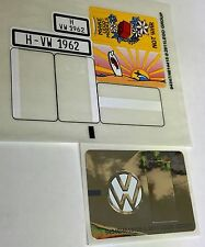 Lego 10220 VW matrícula t1 original Pegatina Sticker volkswagen stickers only