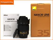 Nikon AF-S ED Wide Angle 35mm F1.8G Autofocus Prime Lens + Free UK Postage