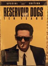 Reservoir Dogs (Dvd, 2002, 2-Disc Set,10th Anniversary Edition) New, Sealed.