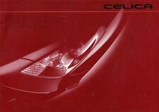 TOYOTA CELICA COUPE T23 SS I II Sportscar Prospekt Brochure JAPAN 8
