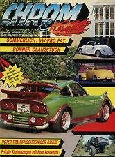 Chrom & Flammen 4 90 1990 Bel Air Chevy 3100 Ford 40A Moto Guzzi V7 Renault 4