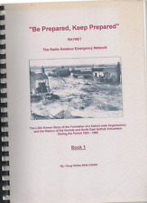SIGNED DOUG WILLIES BE PREPARED KEEP PREPARED RADIO AMATEUR EMERGENCY NETWORK 1