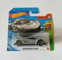 2020 Koenigsegg Jesko Hot Wheels 2020 Caja N Exotics 3/10 Mattel