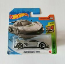 2020 Koenigsegg Jesko Hot Wheels 2020 Caja N Exotics 3/10 Mattel