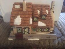 Dept 56 Village The Christmas Carol Cottage w/ Magic Smoking Chimney 58339