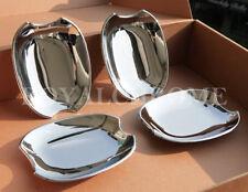 AU STOCK x4 CHROME Door Handle Cup Bucket Covers for JAGUAR XF 09-15 & XJ 09 on