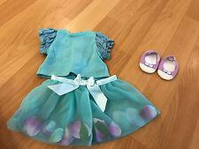 American Girl BITTY BABY Rose Petal skirt  Set , 3 items Great condition! JUFLA