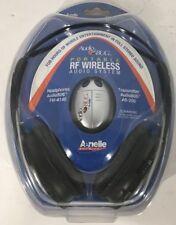 Aerielle Habilitado Portátil Audio Bug RF Inalámbrico Sistema de Auriculares Nip