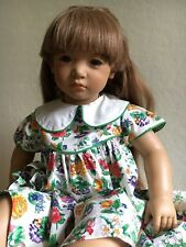 """1991 1992 Neblina Doll by Annette Himstedt 26"""" Faces of Friendship Collection"""