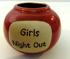 """""""Girls Night Out"""" Ceramic Jar - Useful """"Kitty"""" for Ladies Night Out On the Town"""