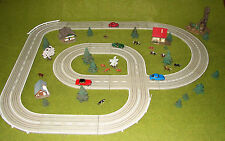 Faller ams Autorennbahn Autobahn Stadtanlage  - Schienenmaterial -