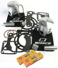 64mm Pistons Top End Gaskets Spark Plug Yamaha YFZ350 Banshee 1987-2006