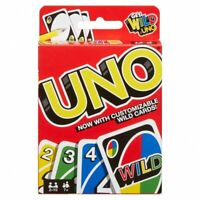 Mattel Uno Card Game Family Games