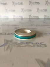PIN STRIPE  Approx 10 METERS-Silver 3mm-aqua 3mm-aqua 3mm  Coachline tape Vinyl
