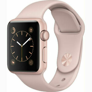 Apple Watch Series 2 38mm Rose Gold Case - Pink Sport Band