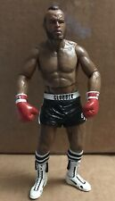 """CLUBBER LANG BLACK TRUNKS Rocky III - 7"""" Action Figure by NECA 2012 * MR. T !"""