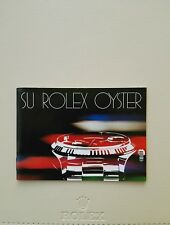 BOOKLET SU ROLEX OYSTER ANNO 1982 SP