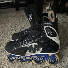 Men's Mission Proto Si Violator Inline Hockey Skates Roller Blades size 11 D