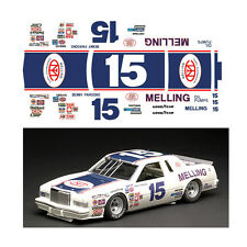 #15 Benny Parsons Melling 1/64 scale decal fits Afx Tyco Lifelike Autoworld
