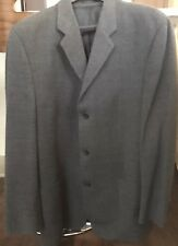 DKNY Mens Blazer Grey Wool 42R