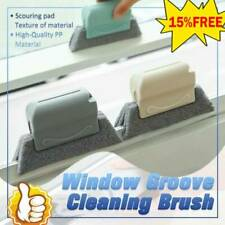 Window Door Track Cleaning Brush Gap Groove Sliding Tool Dust Cleaner Kitchen