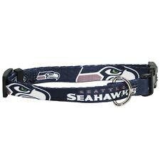 Seattle Seahawks Medium 14 - 20 Inch Dog Collar