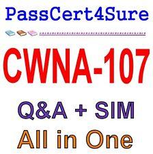 CWNP Certified Wireless Network Administrator CWNA-107 Exam Q&A PDF+SIM