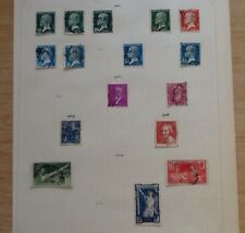 16 French Postage Stamps - Dates 1923 to 1924 - Pre-Owned - From Old Collection.