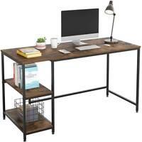 Computer Desk Table Workstation Home Office Student Dorm Laptop Study With Shelf