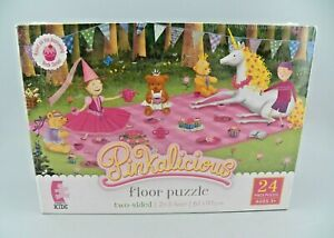 Ceaco Kids Floor Puzzle Pinkalicious 24 Piece, 2 Sided Puzzle Ages 3+ NEW