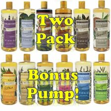 Dr Jacob's Naturals Castile Liquid Soap 32oz 2 PACK +BONUS PUMP! Choose 12 Scent