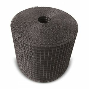 Black PVC Coated Galvanised Mesh for Pigeon Bird Proofing of Solar Panels