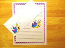 Snail Mail Carrier Stationery Writing Set With Envelopes - Lined Stationary