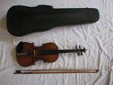 Vintage 1958 Karl Hofner Rubenreuth 3/4 Size Violin with Case Western Germany