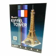3D Puzzle 39 Pieces - Eiffel Tower - World's Great Architect. CUBIC FUN
