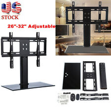 "Universal Tv Stand Lcd Hd Table Base Bracket Mount Holder for 26""-32"" Inch"