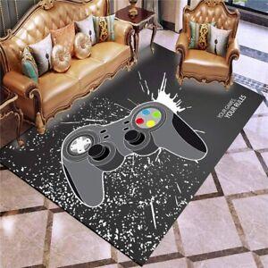 Gamepad Rugs Video Game Anti-Skid Area Rug Living Room Bedroom Floor Mat Carpet