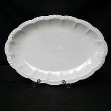 """large   Haviland Schlieger #205  turkey platter 15 1/2"""" old green H & Co L mark"""