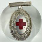 Antique C1914 Scottish Territorial Red Cross Brigade Badge Medal 4.6cm X 2.7cm