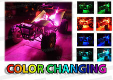 8pc Universal ATV 4Wheeler LED NEON Glow Lighting Accent Kit Quad Dune Buggy UTV