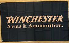 Winchester Rifle Flag Banner 3X5 FT Man Cave Garage 2nd Amendment Gun