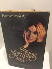 SCRUPLES Judith Krantz 1st Ed/HCDJ Literature Fiction Romance Drama FREE POST