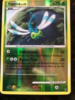 SHINING SHINY YANMA SH9 Played CONDITION, holo foil card, scratches