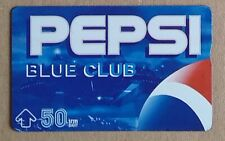 ⭐️ PHONECARD - PEPSI BLUE CLUB ⭐️ THAILAND PHONE CARD THAI 50 BAHT