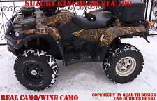 AMR RACING DEKOR KIT ATV SUZUKI KING QUAD LTA 450/500/700/750 WING CAMO B